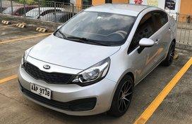 Sell Silver 2014 Kia Rio Sedan Manual Gasoline