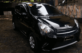 Black 2016 Toyota Wigo for sale in Pasig