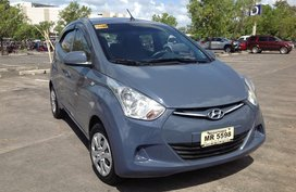 Selling Blue Hyundai Eon 2017 at 6000 km in Lucena