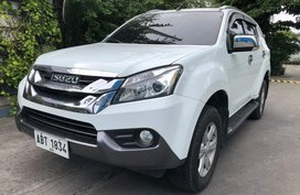 2nd Hand 2015 Isuzu Mu-X for sale in Las Pinas