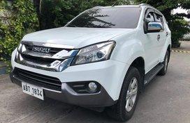 2nd Hand 2015 Isuzu Mu-X for sale in Las Pinas
