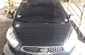 Black Kia Picanto 2016 Manual Gasoline for sale
