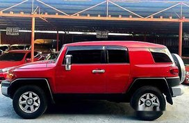 Sell Red 2016 Toyota Fj Cruiser