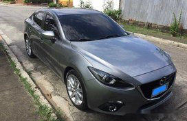 Selling Grey Mazda 3 2015 Automatic Gasoline