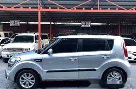 Silver Kia Soul 2012 Automatic Gasoline for sale