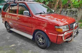 Red Toyota Revo 1999 at 100000 km for sale in Cavite City