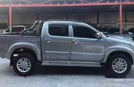 Sell Silver 2015 Toyota Hilux at 38000 km