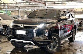 Sell Black 2019 Mitsubishi Strada Automatic Diesel at 7000 km