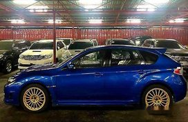 Blue Subaru Wrx 2009 Manual Gasoline for sale