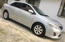 Silver 2013 Toyota Corolla Altis for sale in Quezon City