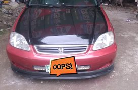 Selling Red Honda Civic 1999 Manual in Bataan