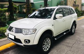 White 2013 Mitsubishi Montero Sport Automatic Diesel for sale