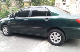 Sell Green 2001 Toyota Altis Automatic in Las Pinas