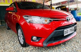 Red 2018 Toyota Vios at 12000 km for sale in Isabela