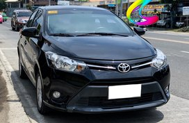 Selling Black Toyota Vios 2017 at 15000 km