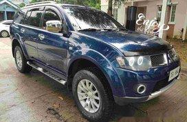 Sell Blue 2011 Mitsubishi Montero Sport at 118500 km