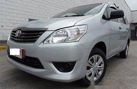 Selling Silver Toyota Innova 2015 Manual Diesel