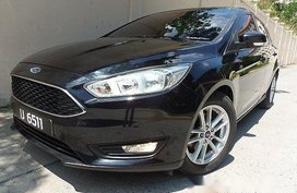 Black Ford Focus 2016 Automatic Gasoline for sale