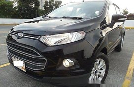 Black Ford Ecosport 2016 at 18000 km for sale