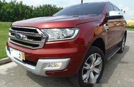 Sell Red 2016 Ford Everest