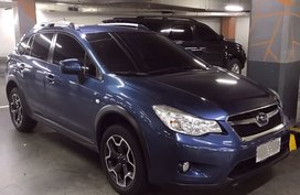 Blue 2015 Subaru Xv Automatic Gasoline for sale