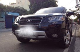 Sell Black 2008 Hyundai Santa Fe Automatic in Quezon City