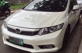 White 2012 Honda Civic for sale in Quezon City