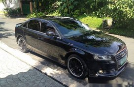 Sell Black 2009 Audi A4 Automatic Gasoline at 43500 km