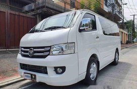Selling White Foton View 2018 in Quezon City