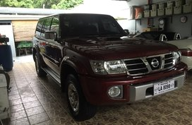 Red 2007 Nissan Patrol Automatic Diesel for sale
