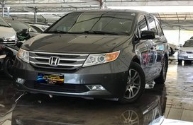 Sell Grey 2013 Honda Odyssey 3.5 EXL Full Option in Makati
