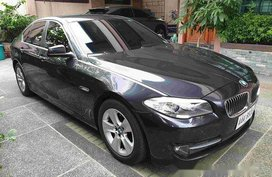 Selling Grey Bmw 520D 2014 in Quezon City