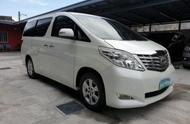 Used Toyota Alphard 2011 at 90000 km for sale in Las Pinas