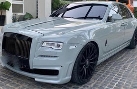 White 2016 Rolls-Royce Ghost at 19000 km for sale in Manila