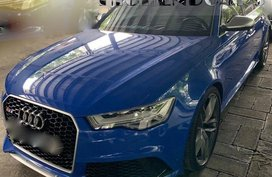 Blue 2016 Audi Rs6 Automatic for sale in Manila