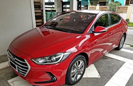 Red 2016 Hyundai Elantra for sale in Pasig