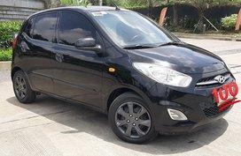 Selling Black Hyundai I10 2011 Automatic in Antipolo