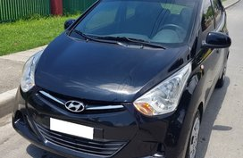 Sell Black 2018 Hyundai Eon at 22000 km in Davao City