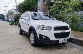 White Chevrolet Captiva 2015 Automatic Diesel for sale