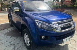 Blue Isuzu D-Max 2016 for sale in Cebu