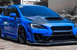 Sell Used 2017 Subaru Wrx Sedan at 5000 km in Pasig