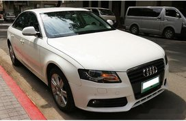 White Audi A4 2009 Automatic Diesel for sale