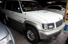 Selling White Isuzu Trooper 2002 Automatic Diesel