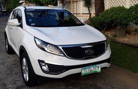White 2011 Kia Sportage Automatic Gasoline for sale