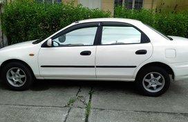 White 1998 Mazda 323 for sale in Quezon City