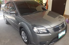 Grey 2011 Kia Rio Automatic Transmission for sale in Makati