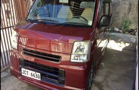 Selling Red Suzuki Multi-Cab 2015 Van in Cebu
