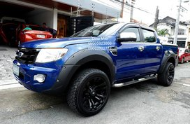 Blue 2013 Ford Ranger Automatic Diesel for sale