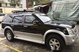 Black Isuzu Alterra 2007 Automatic Diesel for sale