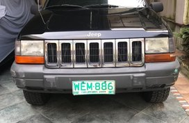 Black Jeep Cherokee 1998 for sale in Quezon City